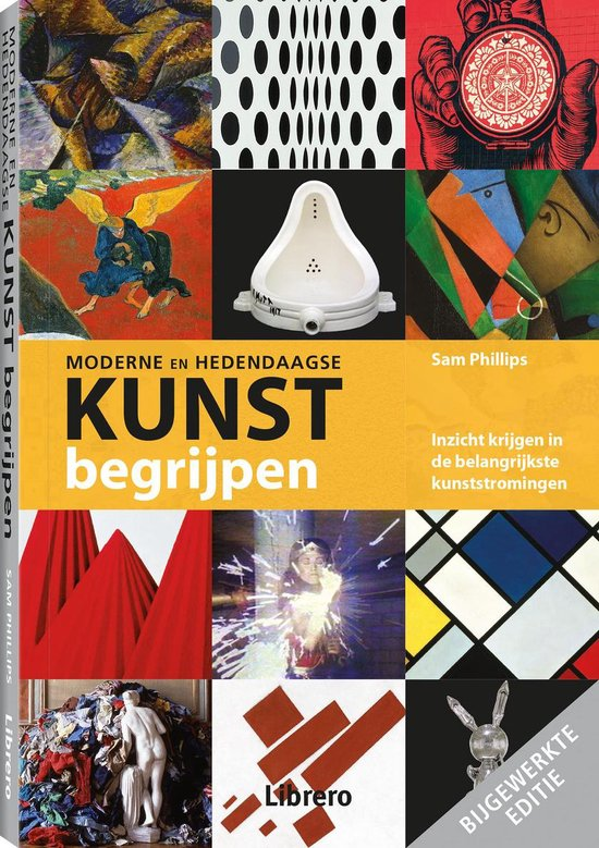 Boek cover Moderne en hedendaagse kunst begrijpen van Sam Phillips (Paperback)