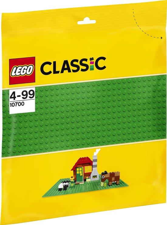 Afbeelding van LEGO Classic Groene Bouwplaat - 10700