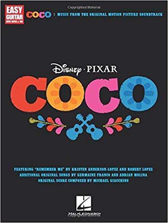 Afbeelding van Disney Pixars Coco For Easy Guitar