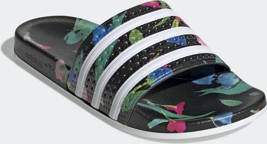 bol.com | adidas ADILETTE W Dames Slippers - Core Black/Ftwr ...