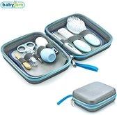 Baby Verzorgingsset - Thermometer - Kam - Manicureset - Nagelknipper - Tandenborstel - Roze