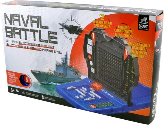 Elektronische Naval Battle - Strategisch Marine Spel