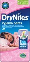 Wegwerpluiers DryNites Pyjama Pants (10 uds)