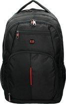 Enrico Benetti Cornell Laptop Rugzak - 17 inch - Zwart