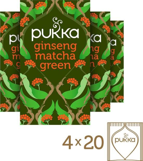 Pukka Ginseng Matcha Green Thee - 4 x 20 zakjes