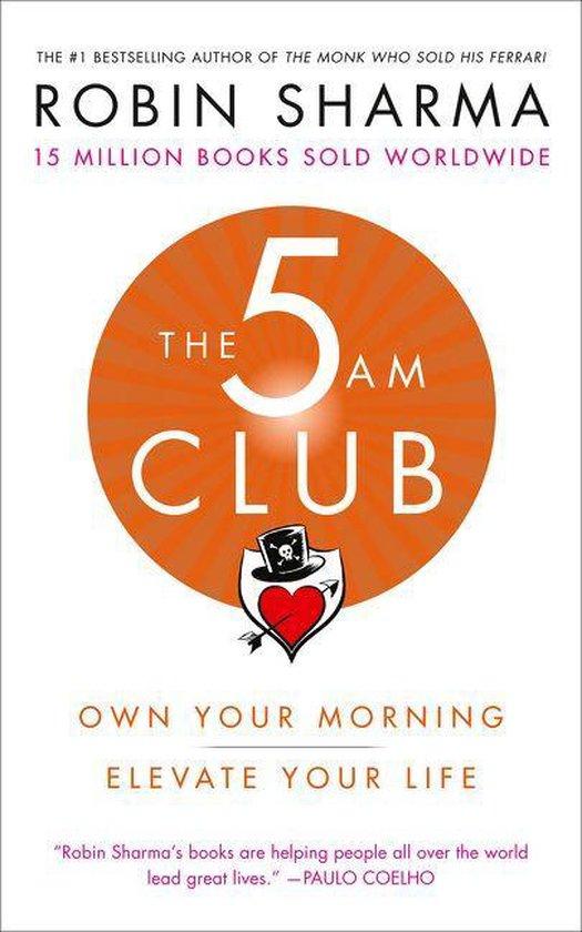 Boek cover The 5 AM Club van Robin Sharma (Paperback)