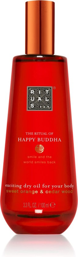 RITUALS The Ritual of Happy Buddha Droge lichaamsolie - 100 ml