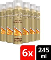 Andrélon Zomerblond Droog Shampoo 6 x 245 ml - Voordeelverpakking