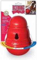 Kong Wobbler - Hondenspeelgoed - Rood - L - Snack dispenser