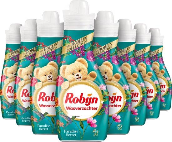 Robijn Paradise Secret Wasverzachter - 8 x 30 wasbeurten - Voordeelverpakking