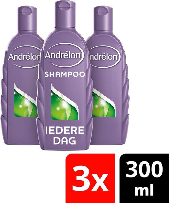 Andrélon Classic Iedere Dag Shampoo - 3 x 300 ml - Voordeelverpakking