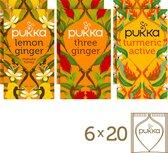 Pukka Ginger Mix Thee - 6 theedoosjes
