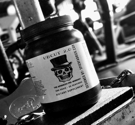 uncut 2.0 the advanced - pre workout - 30 doseringen - 450 gram