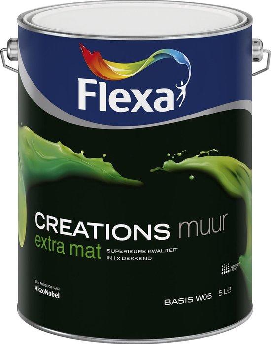 Flexa Creations Muurverf - Extra Mat - Dazzling Night - 1 liter (Mengkleur) - Flexa