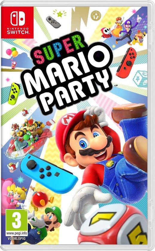 Cover van de game Super Mario Party - Switch