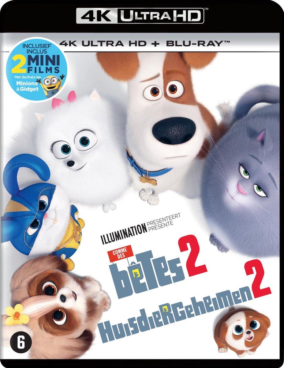 Huisdiergeheimen 2 (4K Ultra HD Blu-ray)-