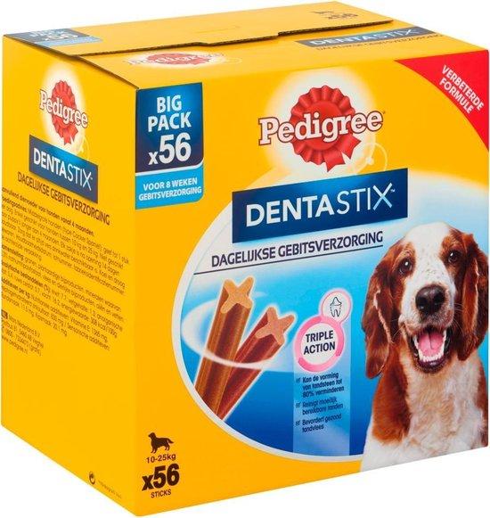 Pedigree - Dentastix - Medium - Kauwstaaf - Gebitsverzorgende hondensnack - 56 stuks