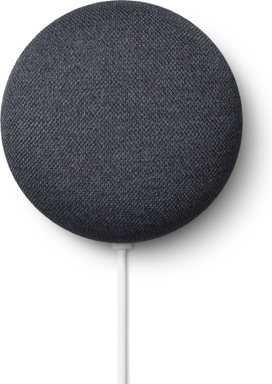 Google Nest Mini - Smart Speaker / Zwart / Nederlandstalig