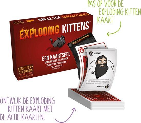 Exploding Kittens Originele Editie - Nederlandstalig Kaartspel