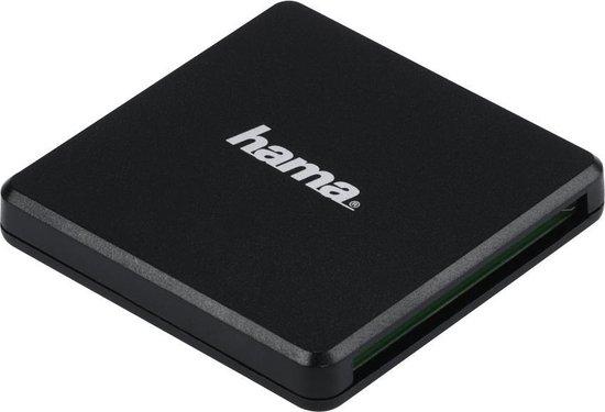 Hama USB-3.0-multi-kaartlezer, SD/microSD/CF, zwart