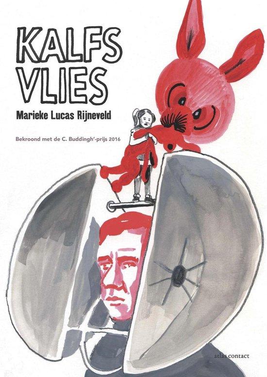 Boek cover Kalfsvlies van Marieke Lucas Rijneveld (Paperback)