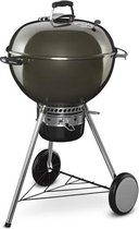 WEBER GBS Master-Touch houtskoolbarbecue �57 cm Rook - Chroomstaal - Grijs