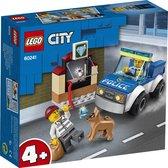 LEGO City 4+ Politie Hondenpatrouille - 60241 - Blauw