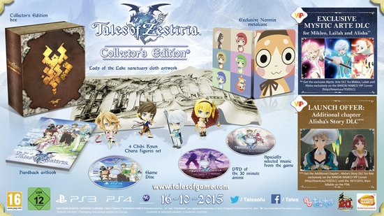 Tales of Zestiria Collector's Edition - PS4