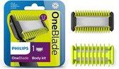 Philips OneBlade QP610/50 - Scheermesje vervanging voor gezicht en lichaam - 1 stuk