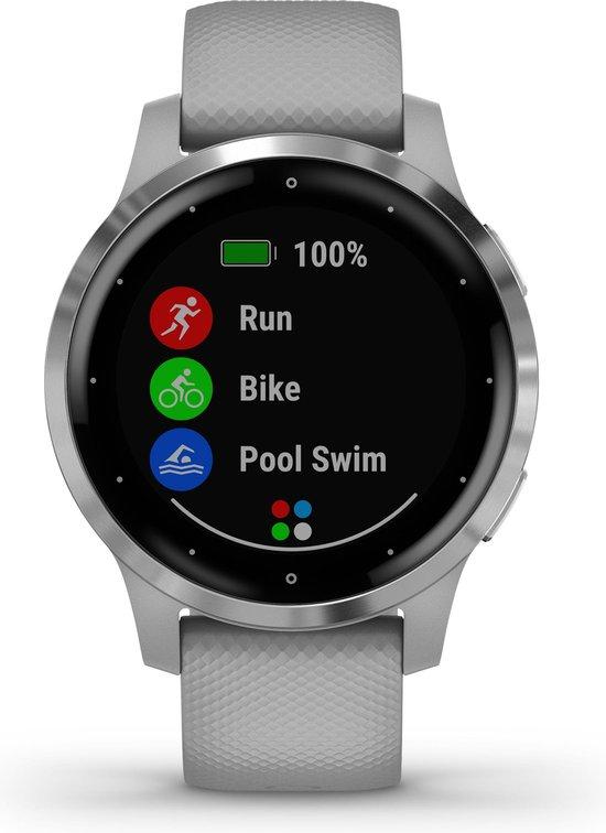 Garmin Vivoactive 4S - Smartwatch - 40 mm - Grijs