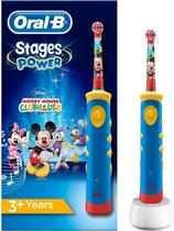 Oral-B Stages Power Kids - Elektrische Tandenborstels - Disney Mickey Mouse - Blauw