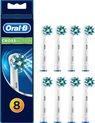 Oral-B CrossAction - 8 stuks - Opzetborstels