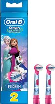 Oral-B Stages Power Disney Frozen - Opzetborstels - 2 stuks