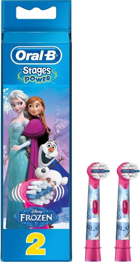 Oral-B Stages Power Disney Frozen - Opzetborstels - 2 stuks