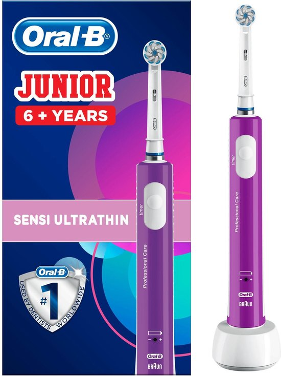 Oral-B Junior - Elektrische tandenborstel - Paars