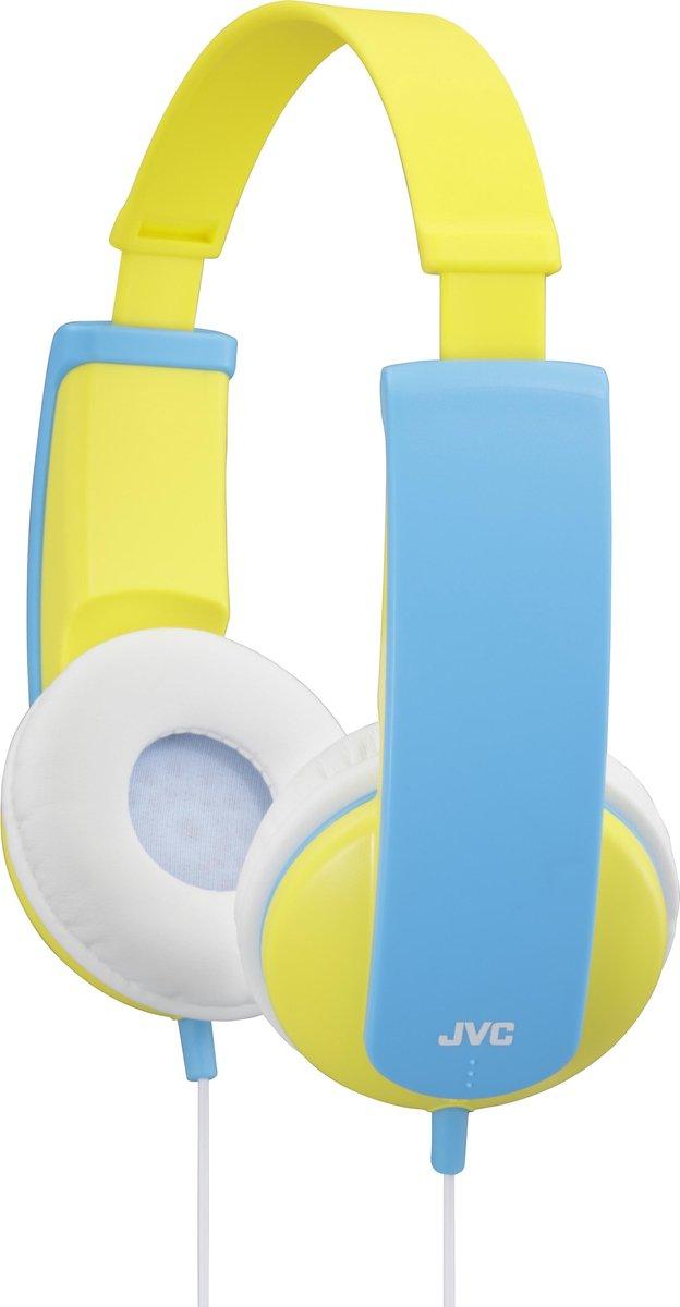 JVC HA-KD5 - On-ear kids koptelefoon - Geel/Blauw