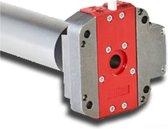 Simu T5 DMI Hz buismotor met geïntegreerde ontvanger en noodhandbediening - Kracht: 10 Nm