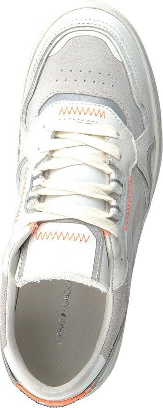 Crime London Dames Lage Sneakers Mars - Wit Maat 37 9odUZn
