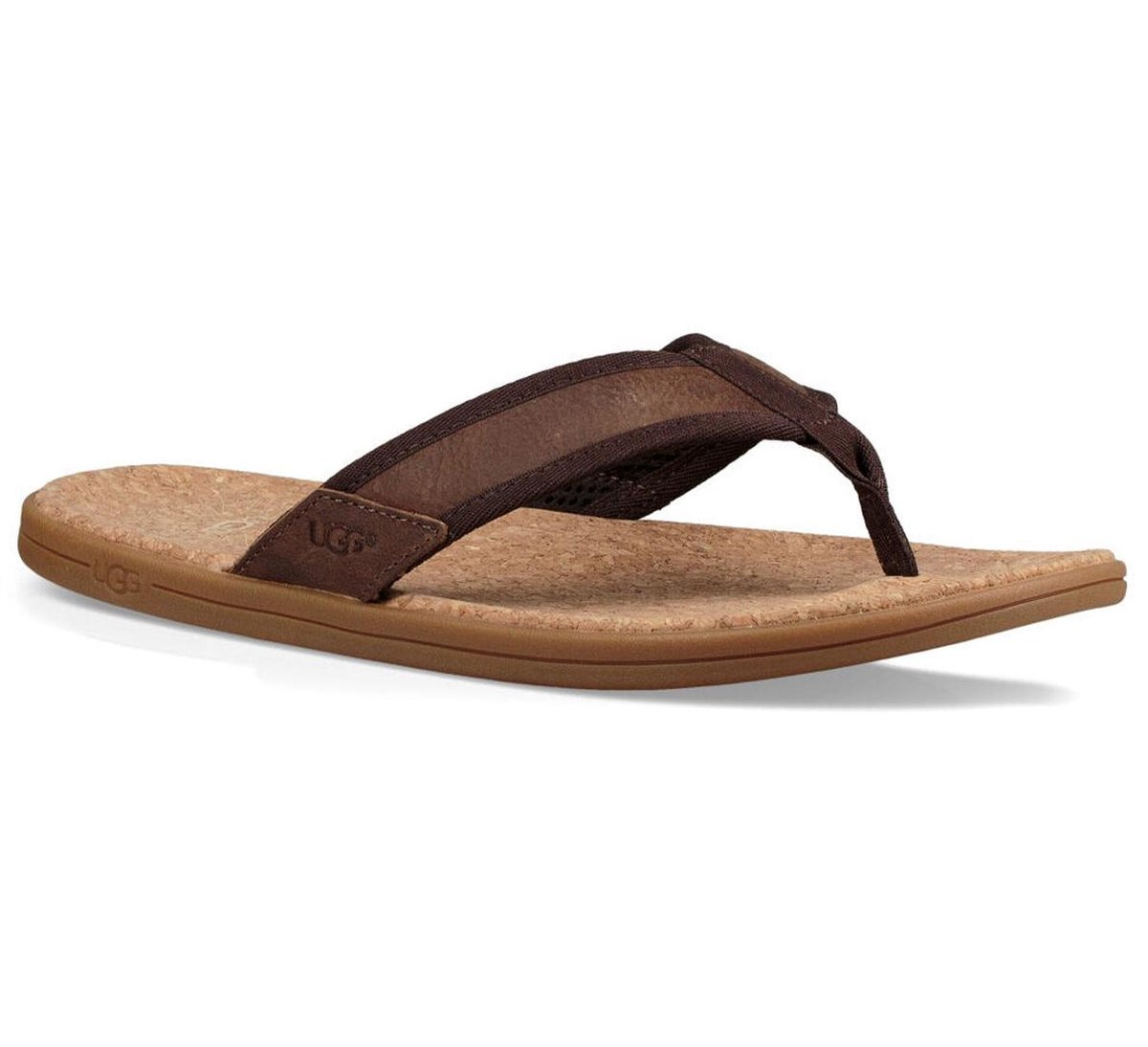 UGG Slippers - Maat 44--CONVERTMannenKinderen en volwassenen - bruin Slippers