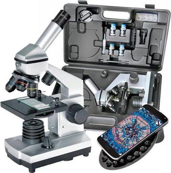 Bresser Junior microscoop-set Biolux CA 40x-1024x