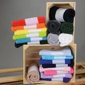 Anthracite  Handdoek voorzien van naam of logo