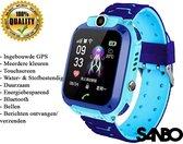 Sanbo Q12 - Kinder Smartwatch - Blauw