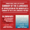 Boek cover Summary Bundle: Work & Love: Includes Summary of The 5 Languages of Appreciation in the Workplace & Summary of The 5 Love Languages for Men van Abbey Beathan
