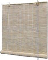 Rolgordijn 140x220 cm bamboe natuurlijk