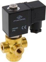 Magneetventiel TP-DB 1/8'' 3/2-weg NO messing FKM 0-11bar 120V AC - TP-DB018B020F-120AC