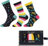 Apollo Giftbox Multipack Heren Sokken - 40-46