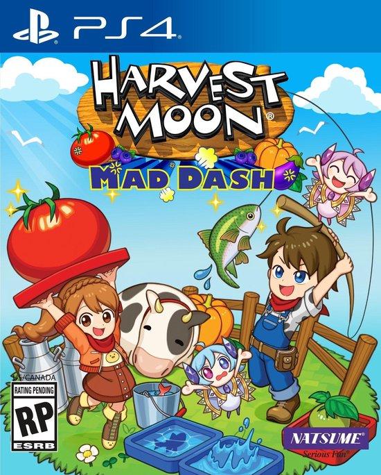 Koch Media Harvest Moon Mad Dash, PS4 video-game PlayStation 4 Basis