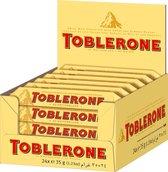 Toblerone Zwitserse Chocoladerepen - grootverpakking - 24 repen a 35 gram