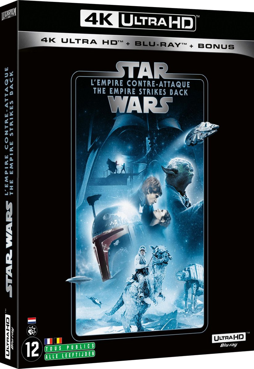 Star Wars Episode V: The Empire Strikes Back (4K Ultra HD Blu-ray) (Import zonder NL)-