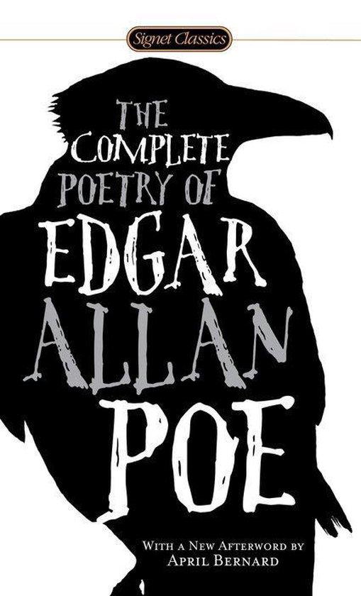 Boek cover The Complete Poetry Of Edgar Allan Poe van Edgar Allan Poe (Paperback)